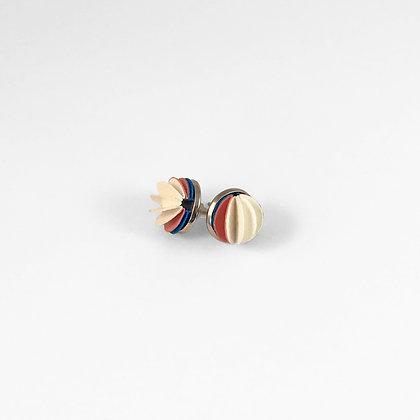 Flutter earrings - mixed colours