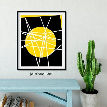 Atomic – digital art print