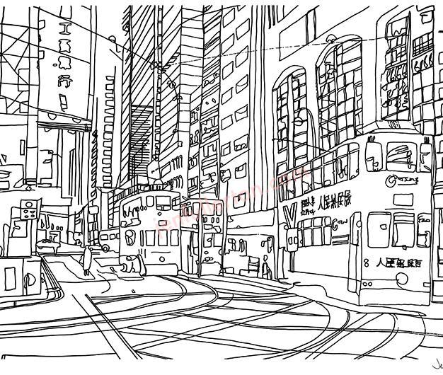 Hong Kong contour