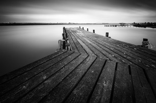 Black and White Jetty