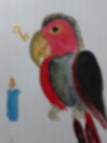Pollys Federn - Illustration von C. Fabian