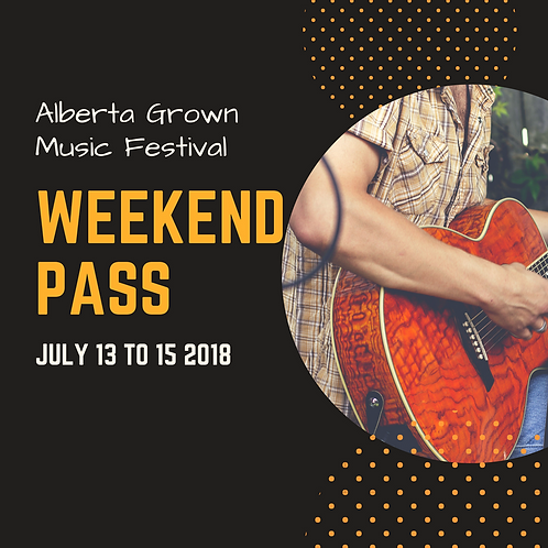 Weekend Pass - July 13-15
