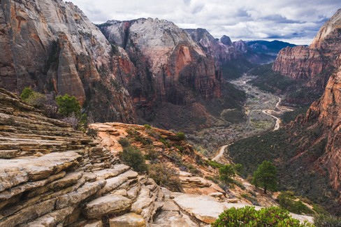 First time to Angels Landing, Zion