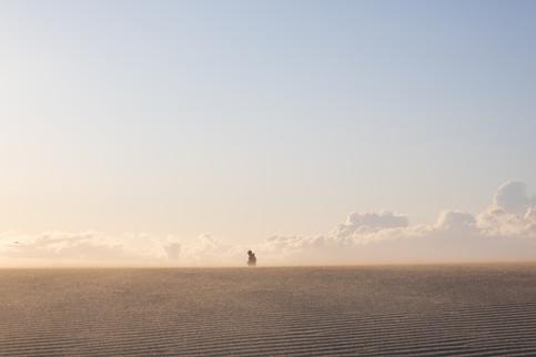Hermosa Beach, last day before Corona lockdown
