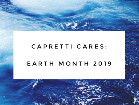 Earth Month 2019