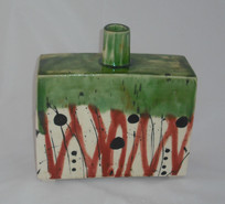 slab bottle vase