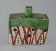 slab bottle vase