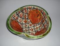 lobed bowl