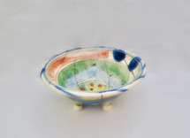 footed bowl