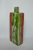 tall slab bottle vase