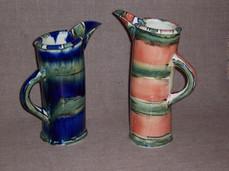 slab built jugs