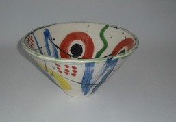 cone  bowl - upside down
