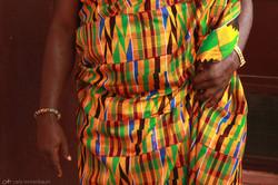 tecido tradicional - kente