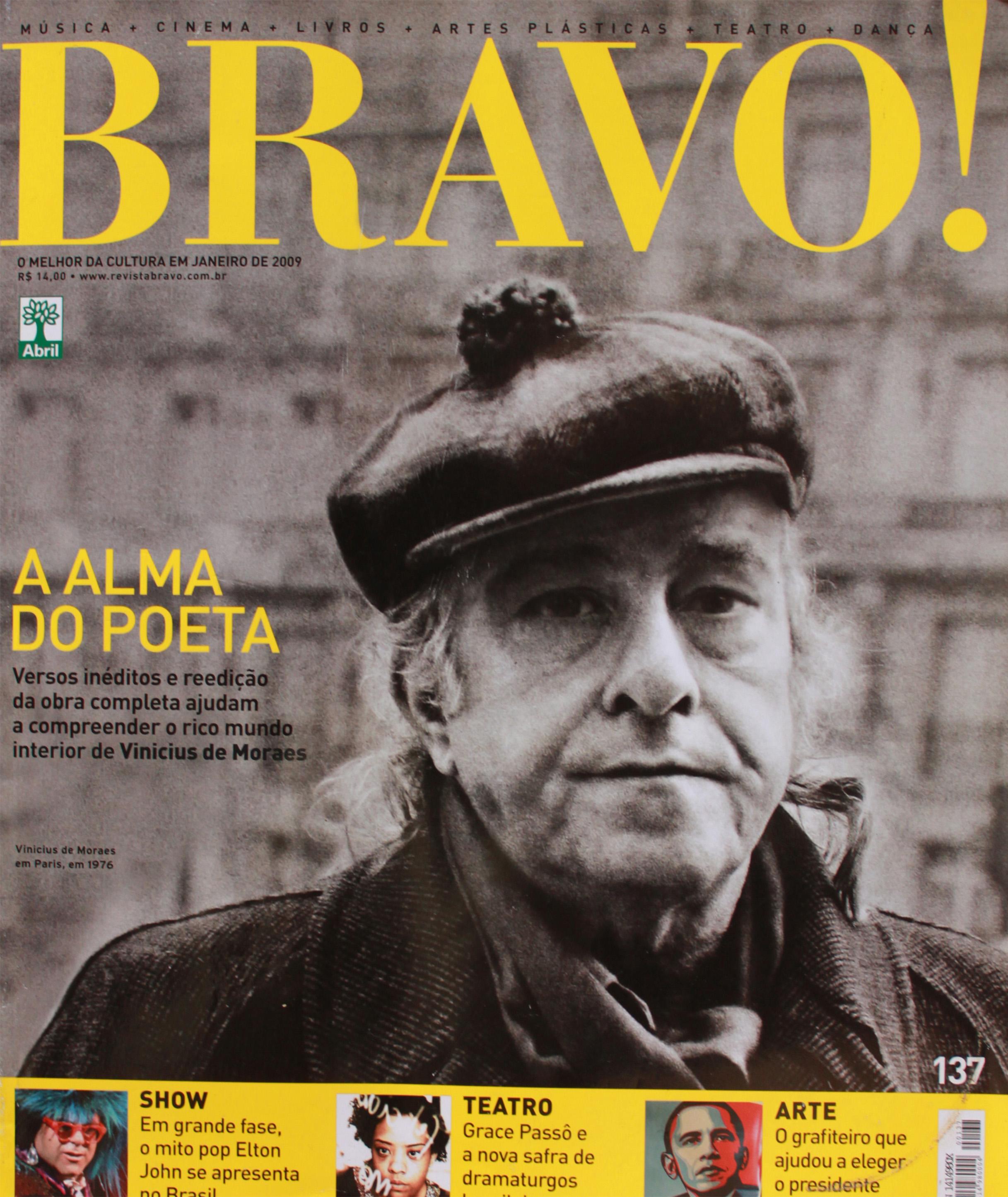 Revista Bravo - capa