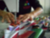 Artesanato com banner - Nós Mulheres , Sorocaba 2009