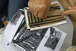 recriando imagens - colagem
