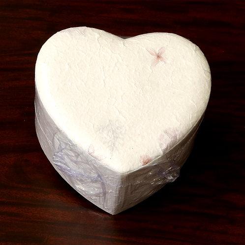 Biodegradable Heart  Urn