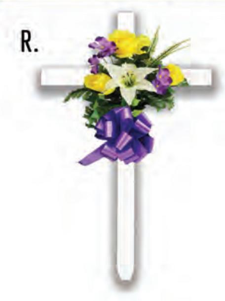 Cross Spring Single Arrangement
