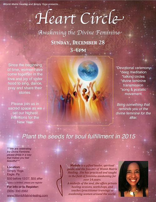 Heart Circle: Awakening the Divine Feminine