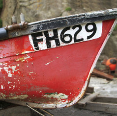 BOAT AT LIZARD POINT