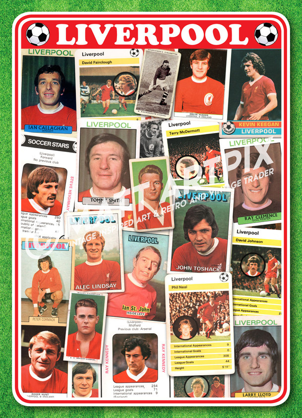 LIVERPOOL CARDS