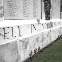 FELL IN YPRES SALIENT