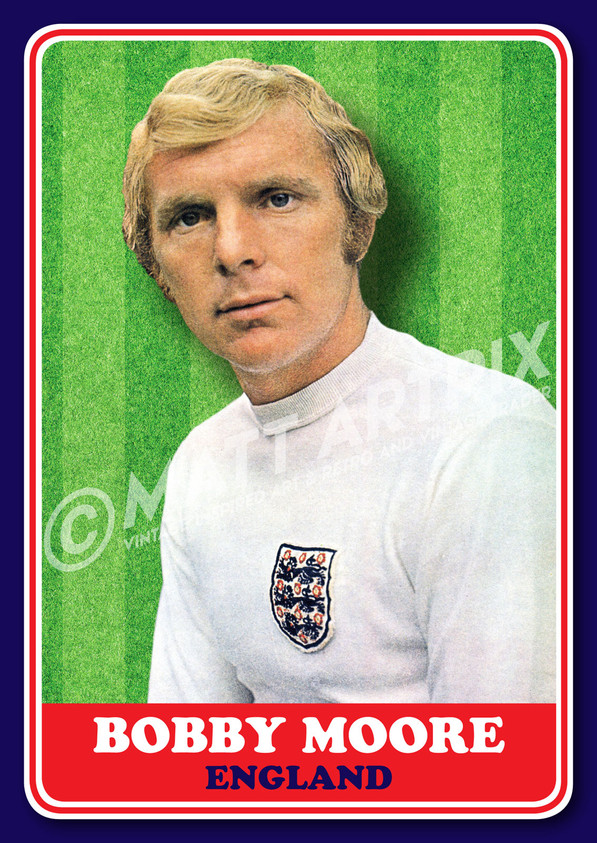 BOBBY MOORE – ENGLAND