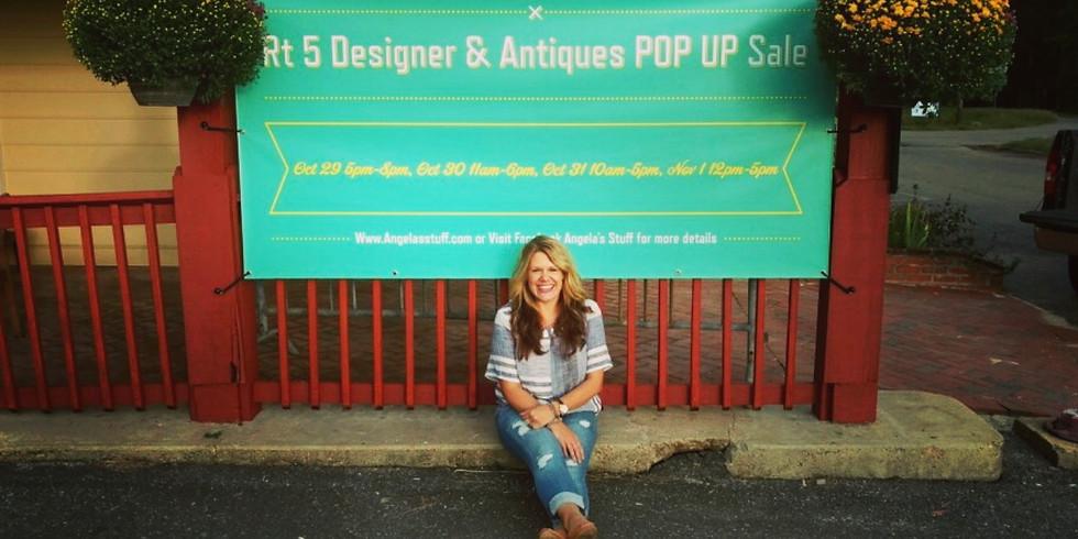 Rt 5 Designer & Antiques POP UP Sale