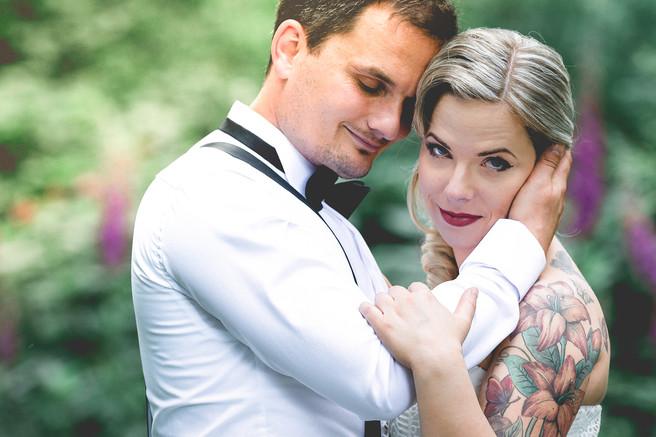 SVANTJE + CHRIS • Eine nicht alltägliche Hochzeit im Wald •