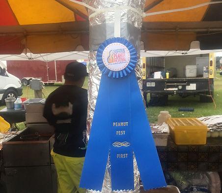Suffolk Peanut Festival First Prize