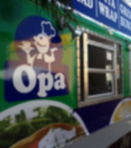 Opa food truck forfestival catering