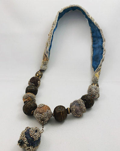 In-Person Class, Sunday, Oct 20, 2019: Felted Beaded Beads