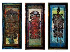 Steps of Time, triptych, 2009..jpg