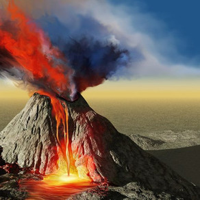 THE SILENT VOLCANO – A Metaphor for Many Men