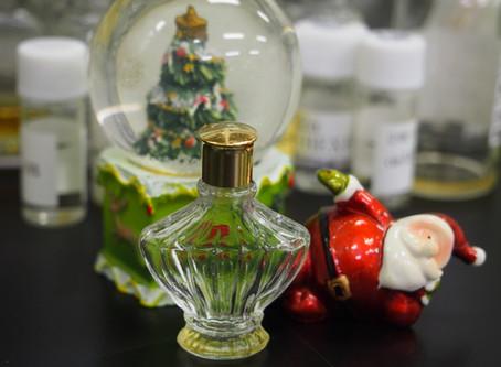 クリスマスシーズンに創った香水