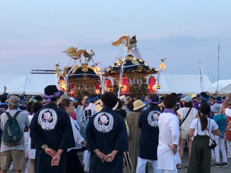 茅ヶ崎の浜降祭