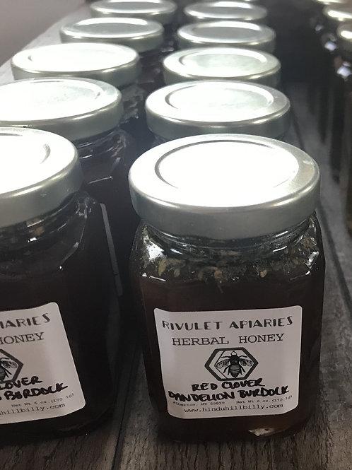 Dandelion and Burdock Herbal Honey, 6 oz