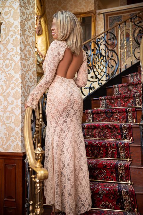 See Through Cocktail Dress