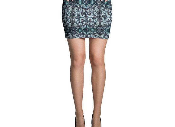 Neon Rainbow Mini Skirt