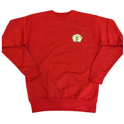 Red Classic Sweater