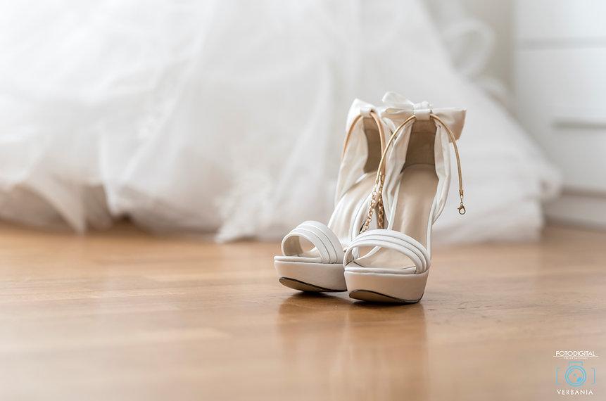 Le Scarpe della sposa - Matrimonio Varese -fotodigitalverbania