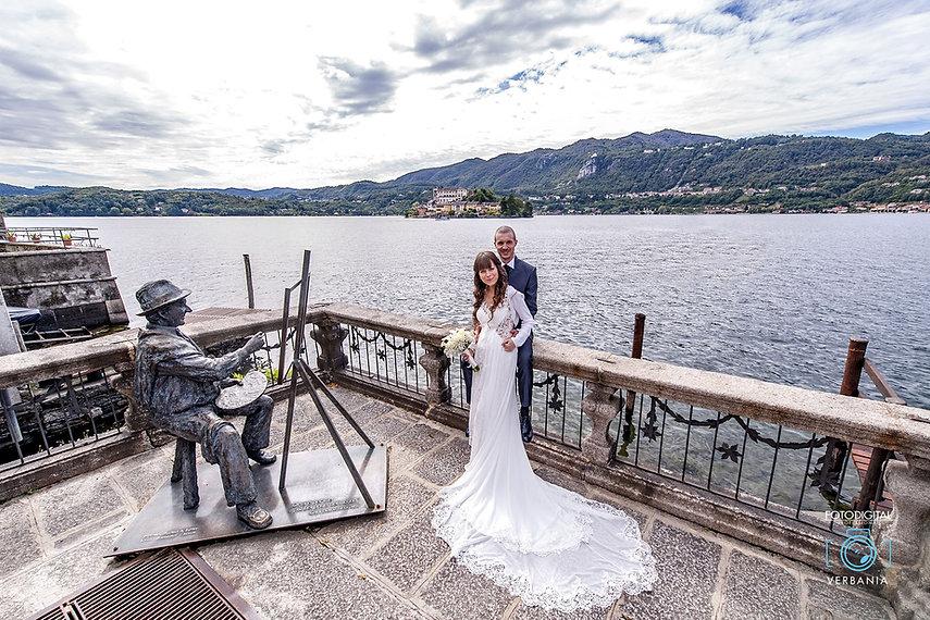Isola di San Giulio Orta Novara - Matrimonio - fotodigitalverbania