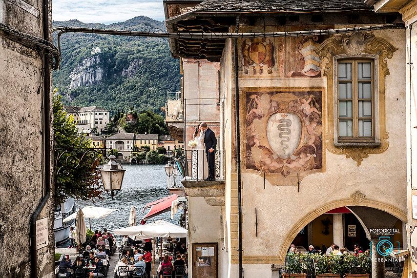 Palazzo della comunità Orta San Giulio - Matrimonio Novara -fotodigitalverbania