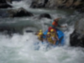 Kenneth J Kiwicz white water rafting in the Dominican Republic