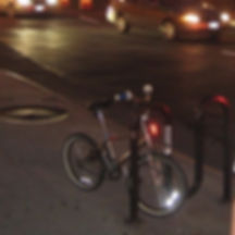 Kenneth Kiwicz takes a picture of a bike in New York City