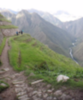 Kenneth Kiwicz hikes the Andes