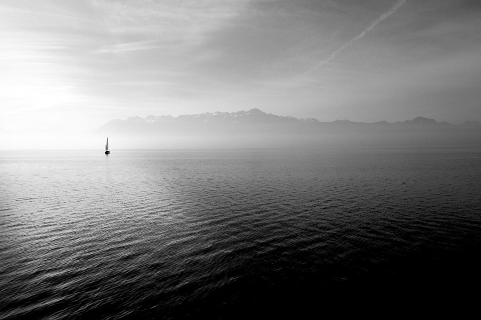 Kenneth J Kiwicz shows photo of sailing as a metaphor for explore dream and discover