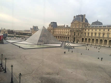 Kenneth J Kiwicz photo of the Louvre