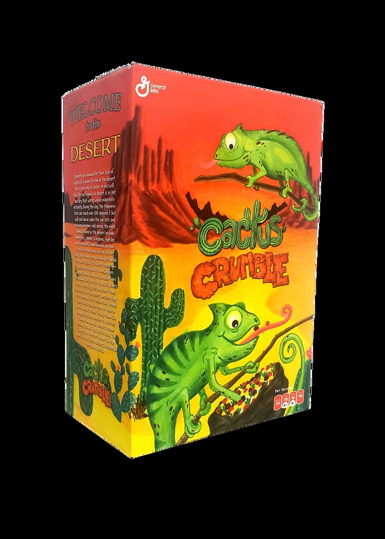 Cactus Crumble Box