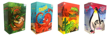 Cereal Boxes Mockups